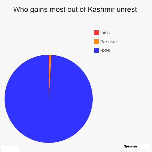 Pie-Charts That Perfectly Sum Up #Kashmir