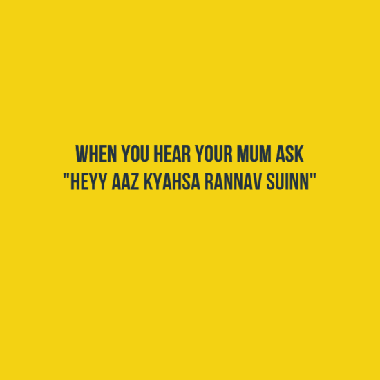 You Know You Are A Kashmiri When?