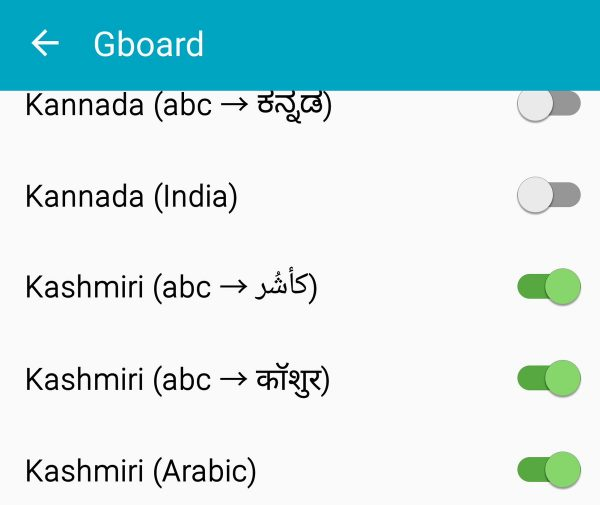 Google Introduces Kashmiri Language In Their Keyboard App