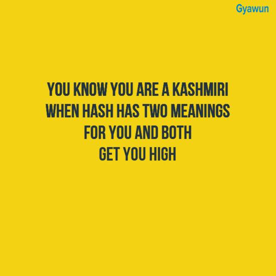 #Kashmirithings
