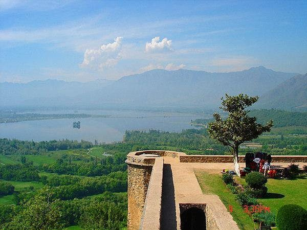 360 Degree View From Pari Mahal, Kashmir