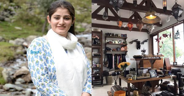 "Meet Asfiya Khan, The Person Behind Unique and Cool ""Ibn Battuta"" Shop in Kashmir"