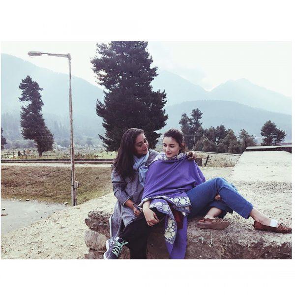 In Pictures Aliaa Bhatt's Kashmir Visit