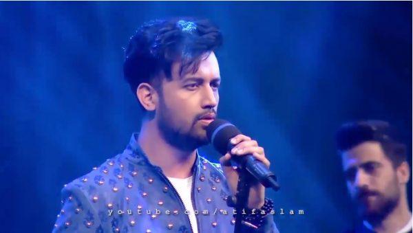 "Atif Aslam Singing Kashmiri Song ""Karyo Manz Jigras"""