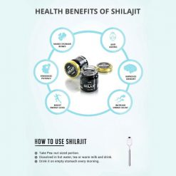 Pure Kashmiri Shilajit 10gms (Pack of 2)