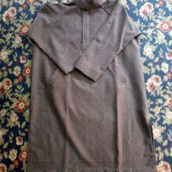 Brownish Mens Tweed Wool Ragnal Pheran