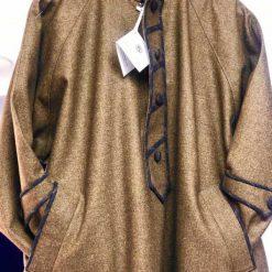 Dark Golden Brown Pheran