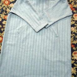 Grey Mens Tweed Wool Ragnal Pheran