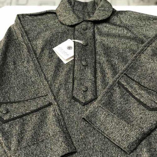 Classic Grey Small Box Checkered Pheran