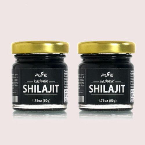 Pure Kashmiri Shilajit 50gms (Pack of 2)