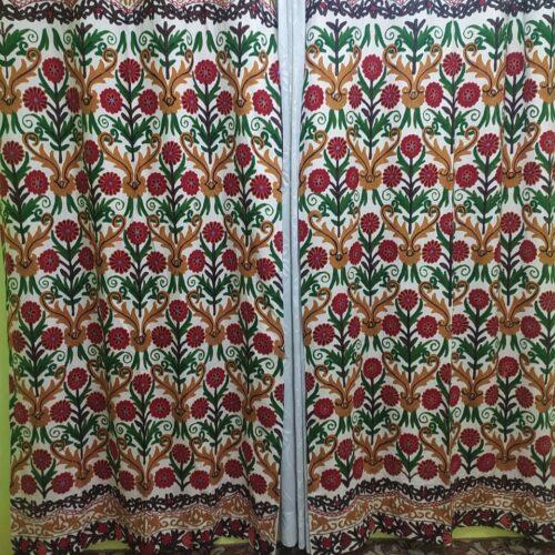 Crewel Curtains